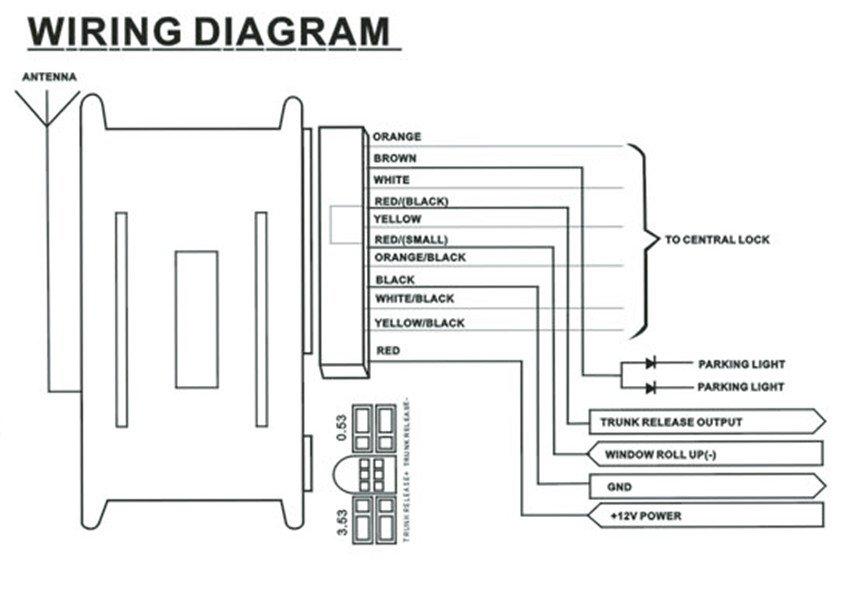 Remote Entry Wiring Diagram K1500