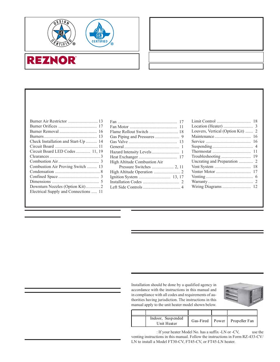 hight resolution of reznor wiring schematic