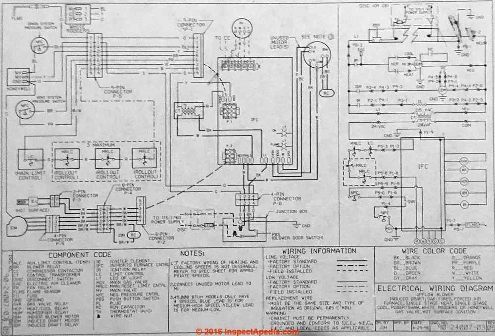 medium resolution of rheem ropd 1120 bga wiring diagram janitrol furnace wiring diagram rheem wire diagram