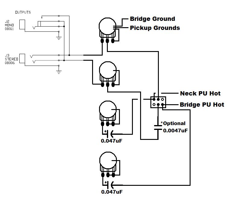 Rickenbacker 4003 Wiring Diagram