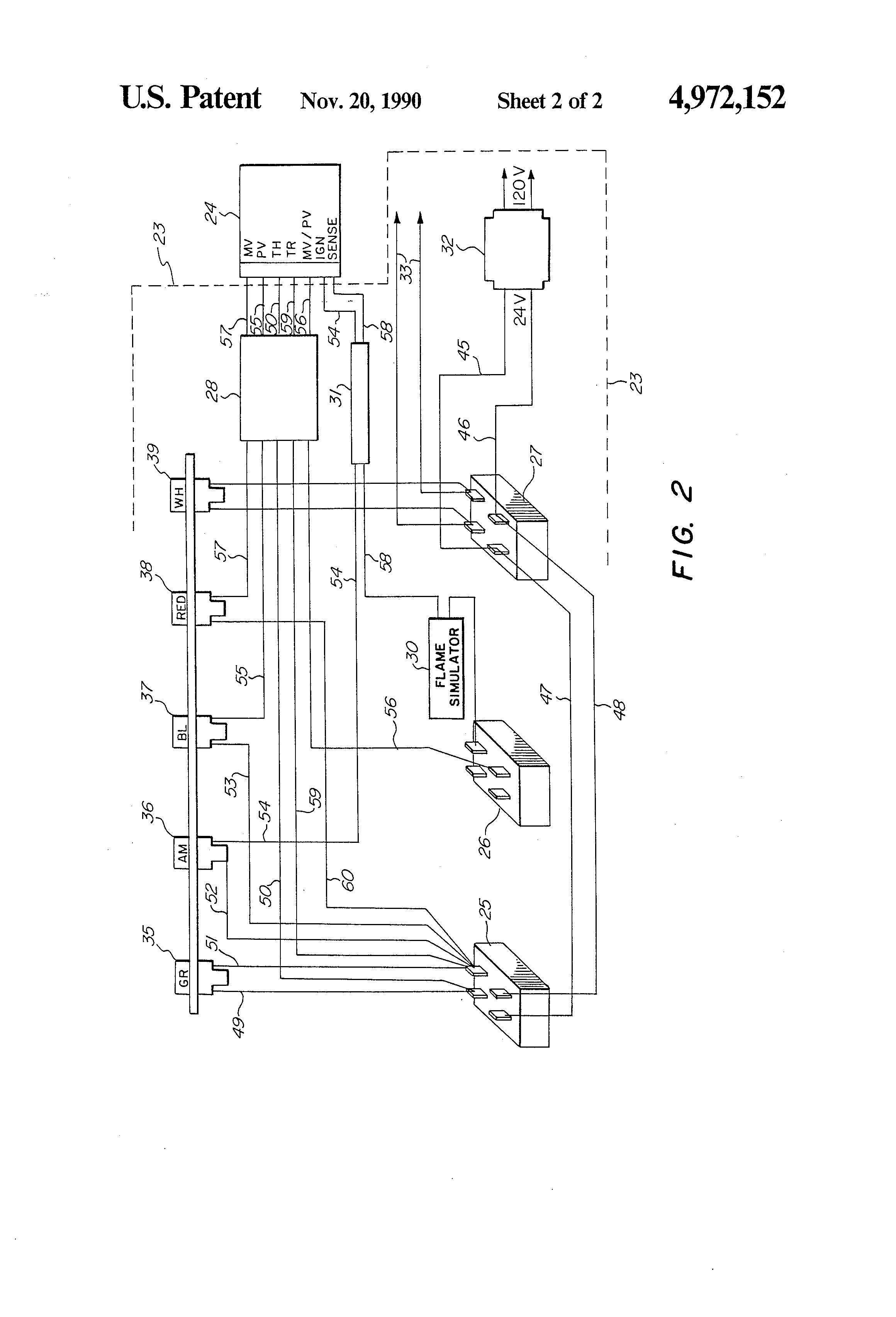 Robertshaw 780-715 U Wiring Diagram