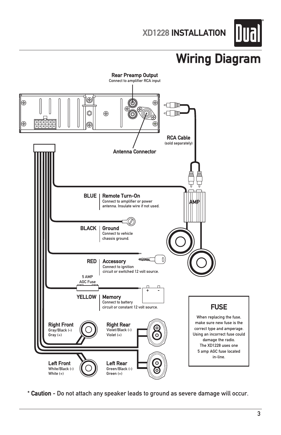 Rockville Amp Wiring Diagram
