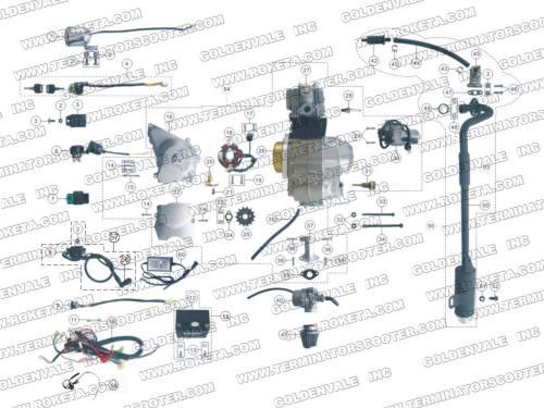 small resolution of roketum 250 atv wire diagram