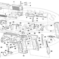 Ruger Pistol Parts Diagram Architecture Of Data Warehouse With P95