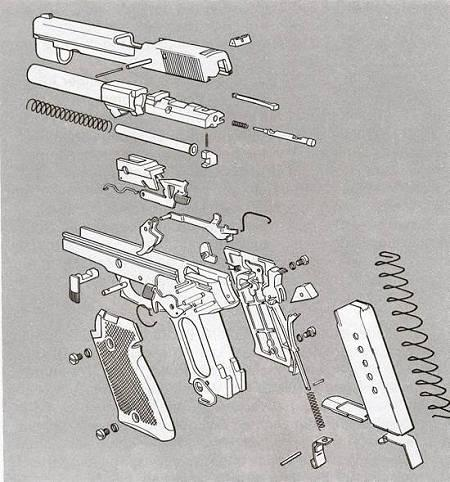 ruger pistol parts diagram ceiling fan wiring 2 switches sr22