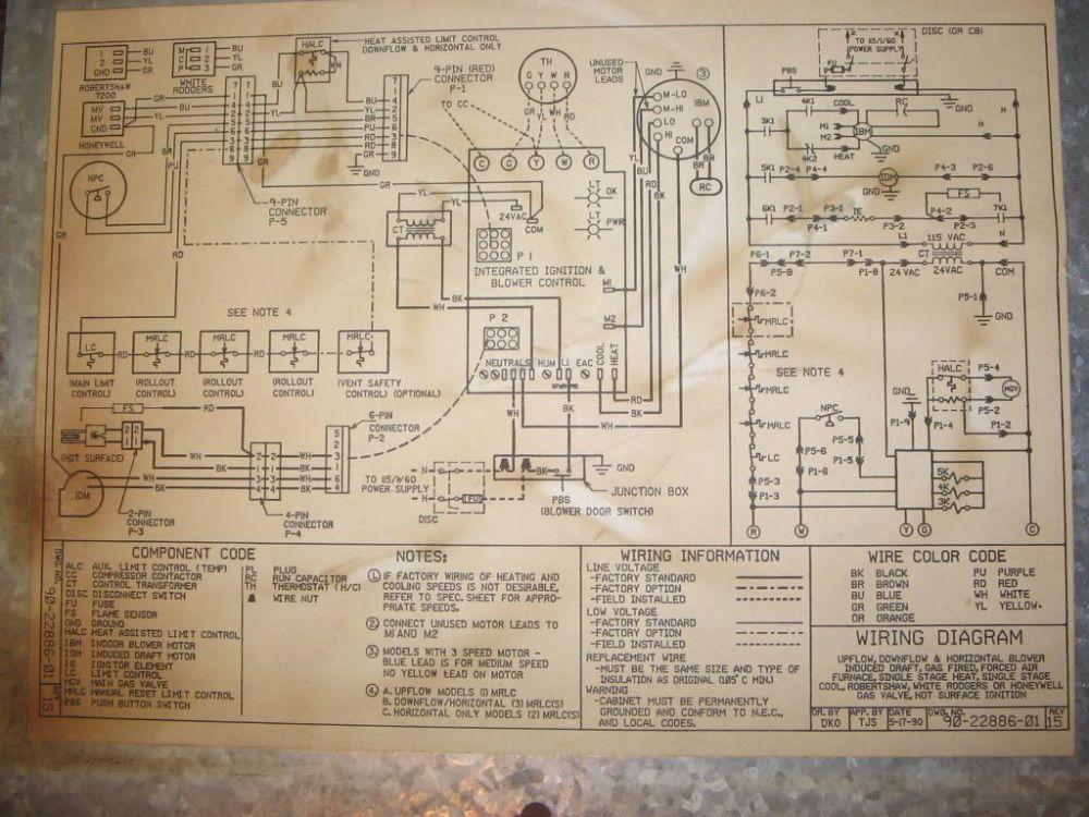 medium resolution of ruud ugph wiring diagram