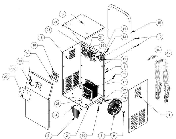 Schumacher Se-4020 Wiring Diagram