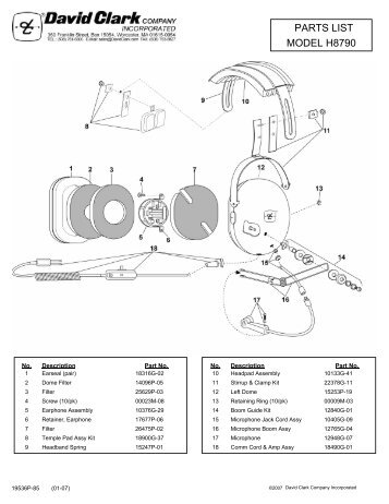 Sigtronics Headset Wiring Diagram