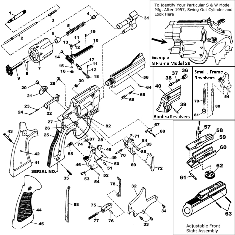 Smith And Wesson M&p Parts Diagram