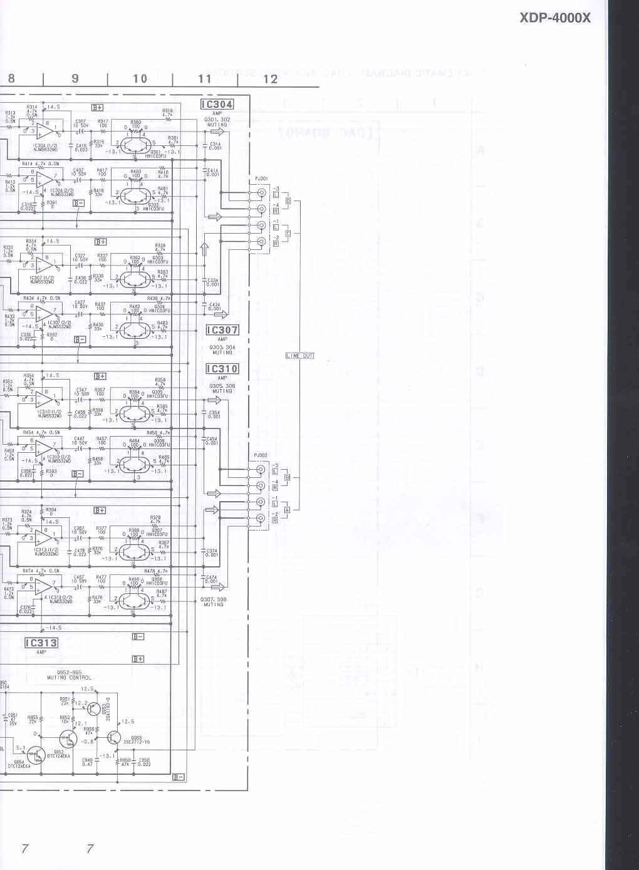 Sony Cdx-4000x Wiring Diagram