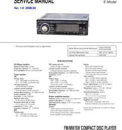 sony cdx f5500 wiring diagram [ 1500 x 2122 Pixel ]