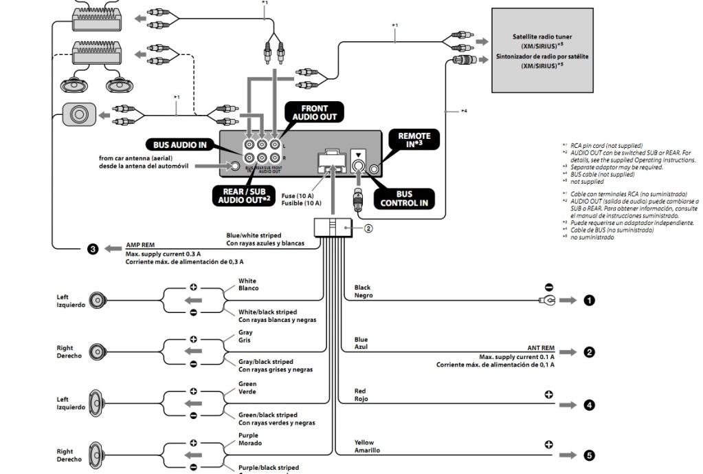 Sony Cdx-gt565up Wiring Diagram