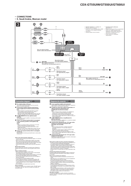 small resolution of sony cdx gt57up wiring diagram