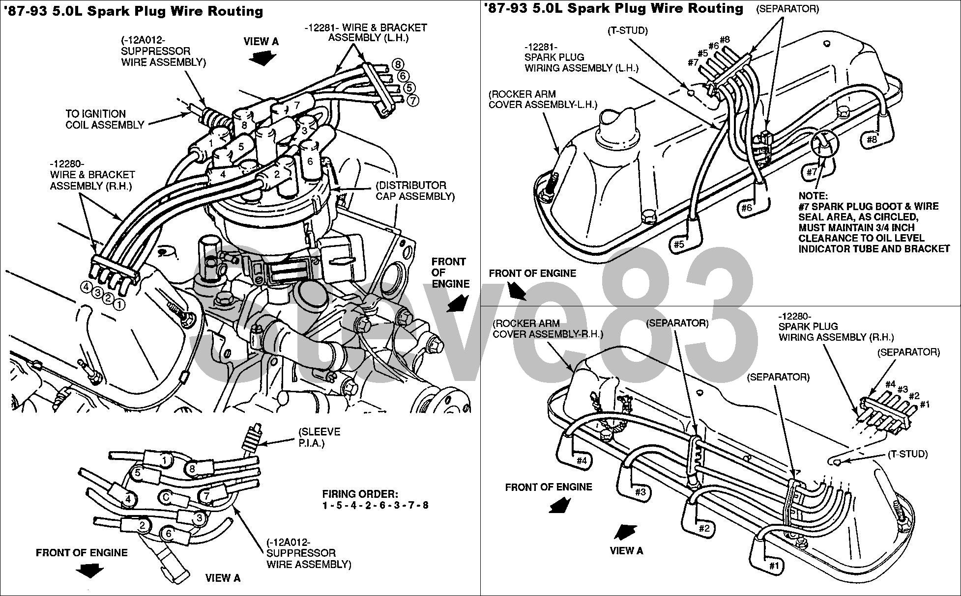 Spark Plug Wiring Diagram For E 15 5 8l