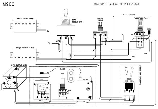 Steinberger M Series Wiring Diagram