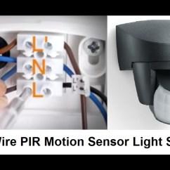 Pir Sensor Wiring Diagram Razor E100 Electric Scooter Steinel