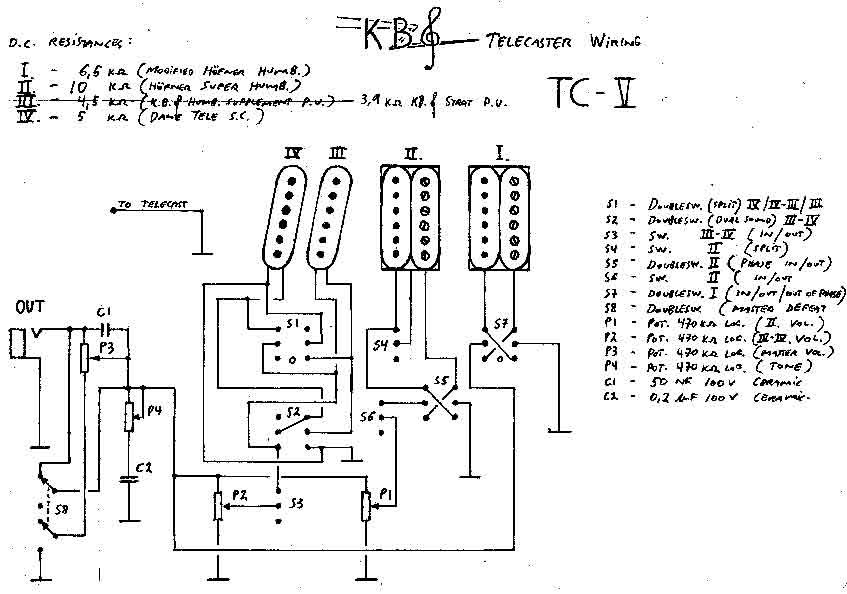 Steve Lukather Wiring Diagram