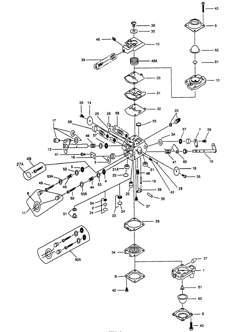 Stihl 009 Carburetor Diagram