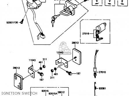 Suzuki Eiger Quadrunner 400 2004 Wiring Diagram