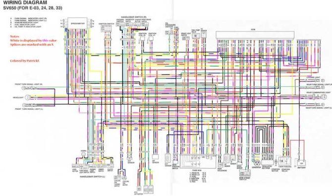 sv 650 wiring diagram  wrangler fuse box for wiring diagram