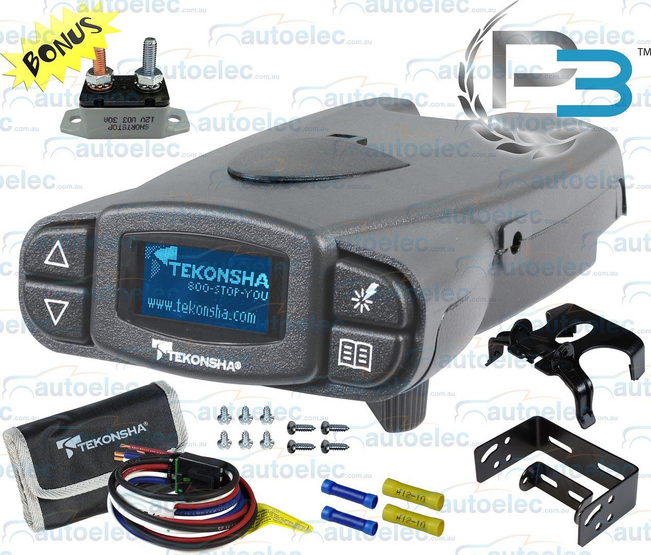 tekonsha prodigy p3 brake controller wiring diagram 1994 acura integra alarm