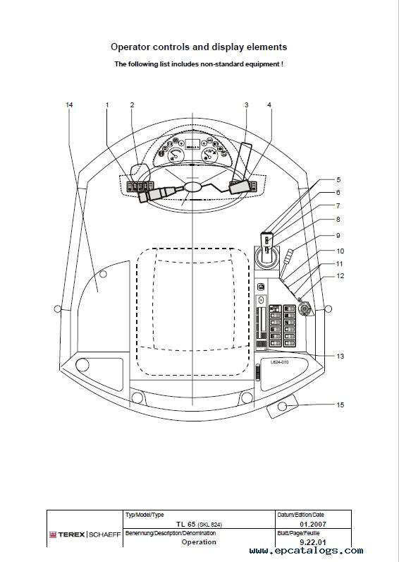 Terex Rs445c Wiring Diagram
