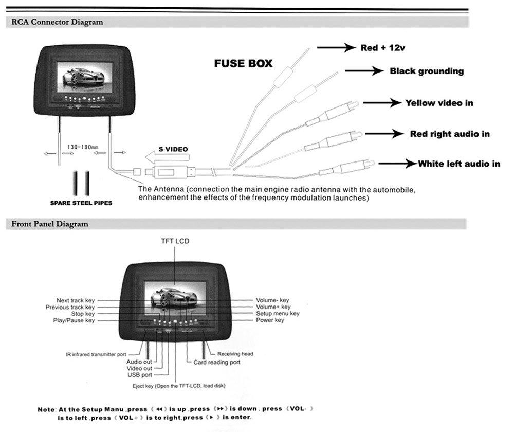 Tft Lcd Backup Camera Wiring Diagram Further Rear View Camera Wiring