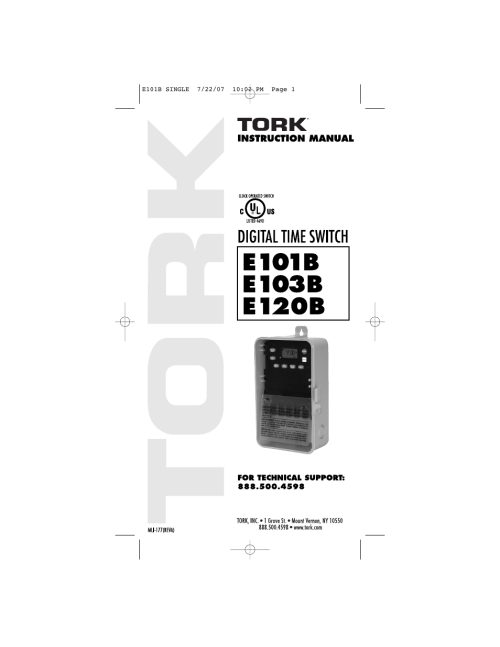 small resolution of tork timer wiring diagram
