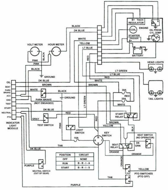 Toro Wheel Horse 264h Wiring Diagram