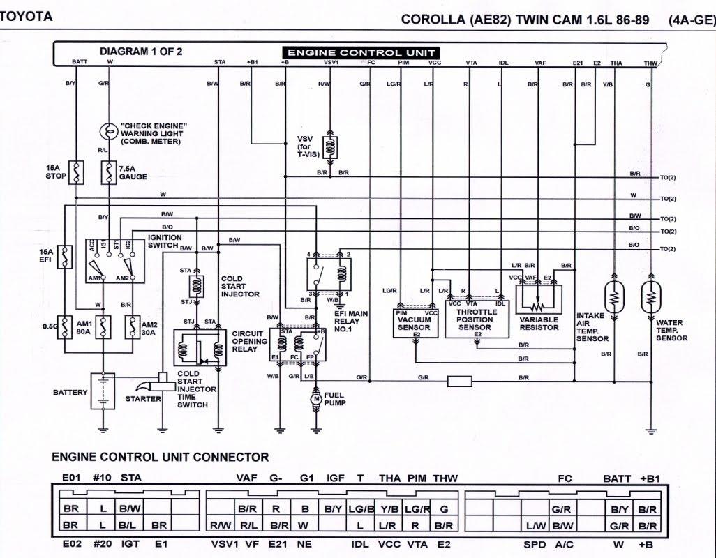 Toyota A51202 Wiring Diagram