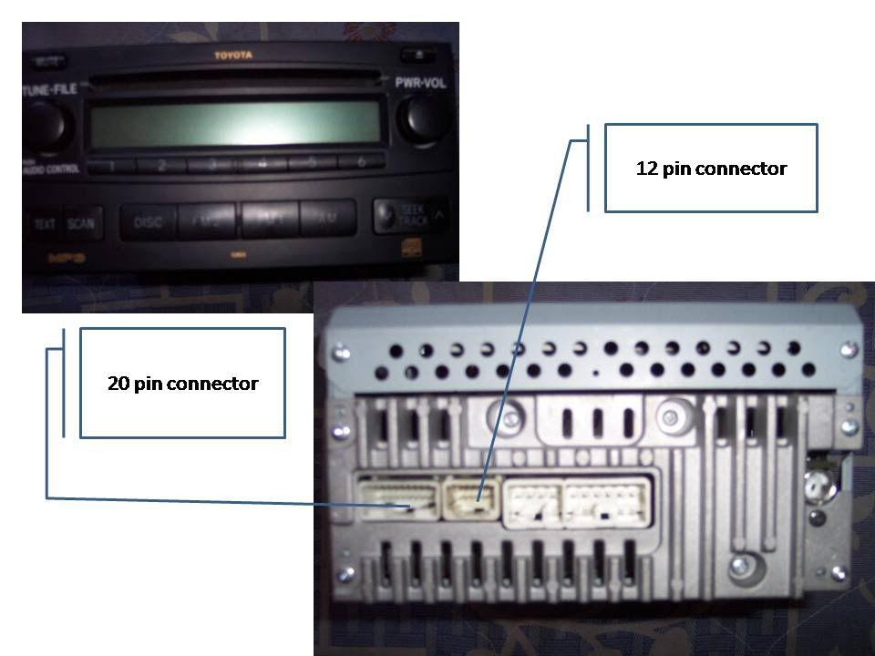 car stereo wiring diagram toyota v8043e1012 fujitsu ten 86120 aa040