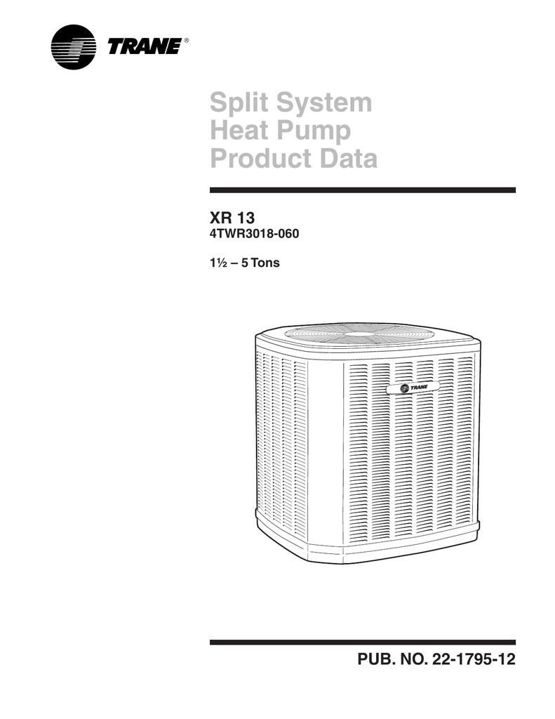 Trane 4twr3048b Wiring Diagram