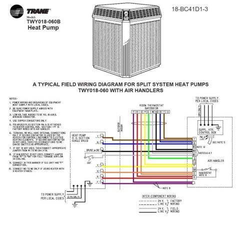 small resolution of air conditioning wiring diagram trane