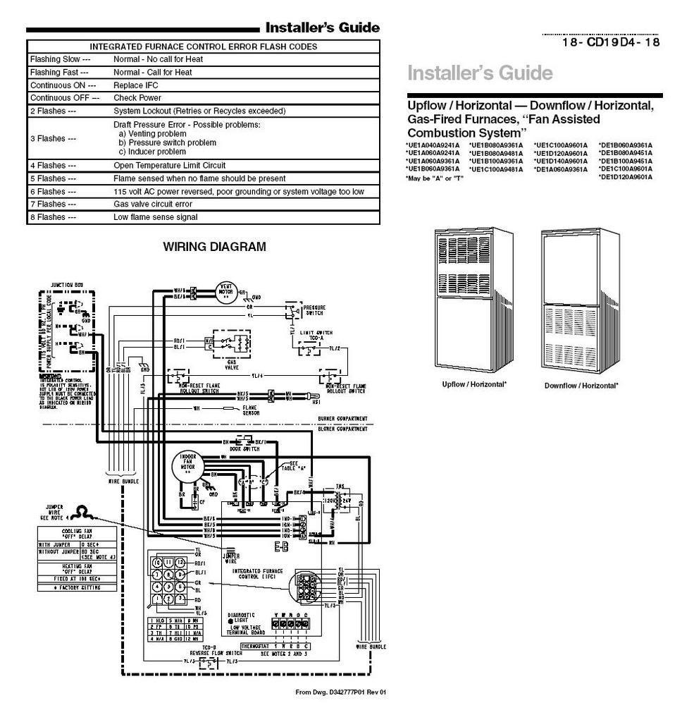 Trane Xe80 Wiring Diagram