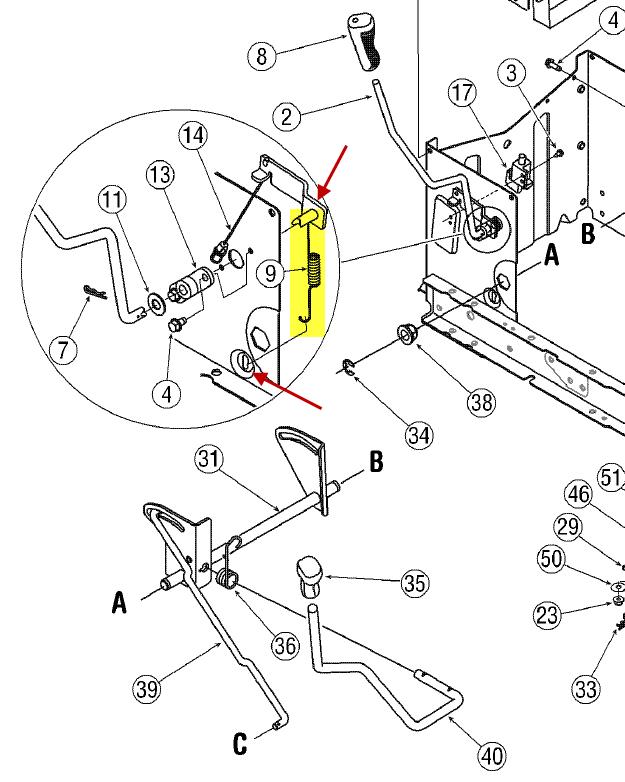 Troy-bilt 13099 Complet Wiring Diagram