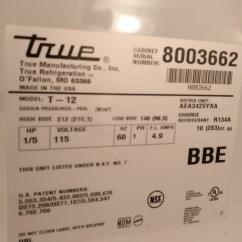True Freezer T 49f Wiring Diagram Sorting 3d Shapes Venn