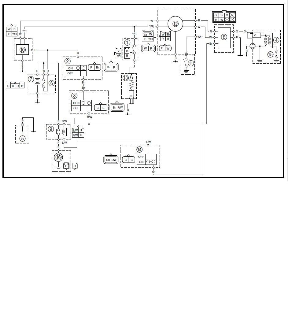 Ttr 230 Carb Diagram