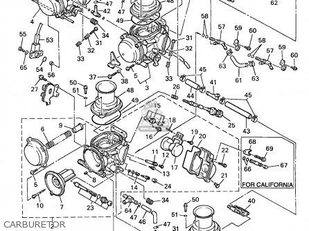 Ttr 50 Carburetor Diagram
