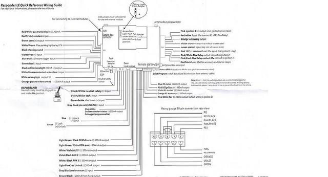 Viper 5000 Alarm Wiring Diagram