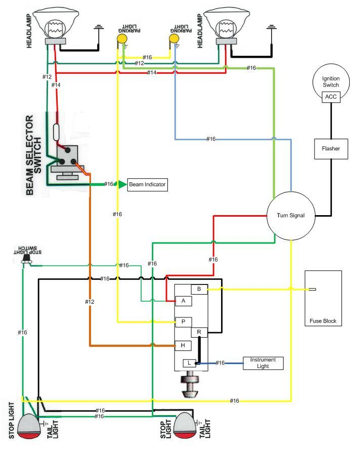 Turn Signal Wiring Diagram As Well Turn Signal Wiring Diagram