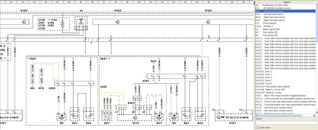 W203 Rear Sam Wiring Diagram