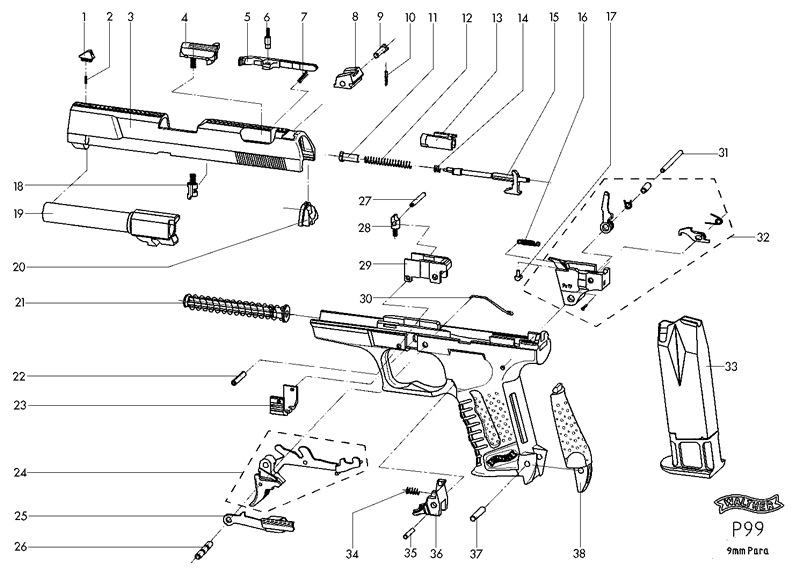 Walther Ccp Parts Diagram