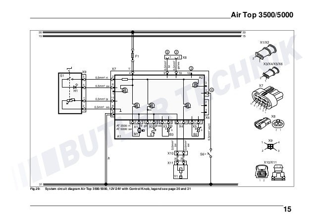 Webasto Air Top 5000 Wiring Diagram