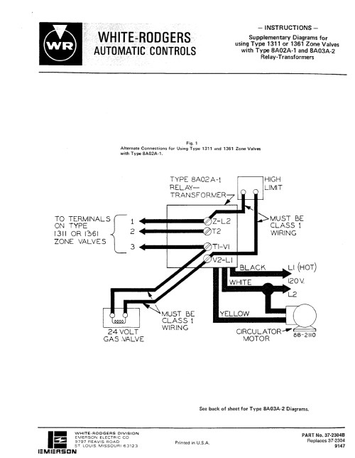 small resolution of white rodgers fw wiring diagram