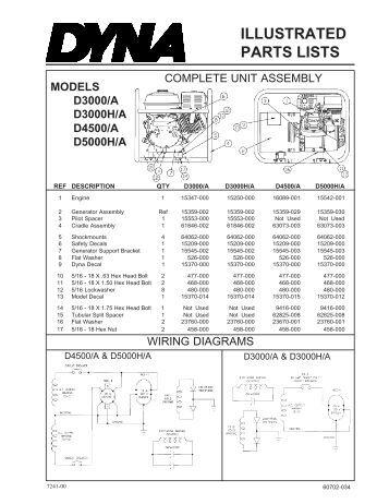 Winco Generator Wiring Diagram