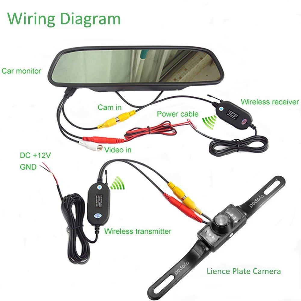 hight resolution of wireles reverse camera wiring diagram