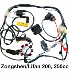 zongshen 200 wiring diagram four wire system [ 1000 x 1000 Pixel ]