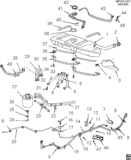 Wiring Diagram 94 Camaro Z28 Fuel Gauge Sending Unit In Tank