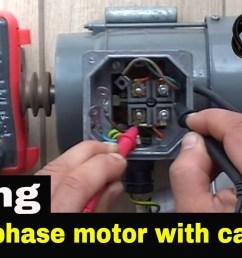 wiring diagram compressor capacitor start capacitor run fractional h p motor 240 volt ac [ 1280 x 720 Pixel ]