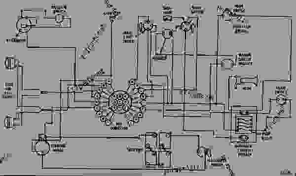 Wiring Diagram For 12 Vote 3010 John Deere Tractor